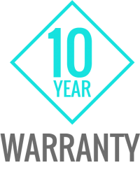 Ask us about our Manufacturers 10 Year Warranty