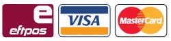 Natural Grass accepts Eftpos, Visa and Mastercard payments