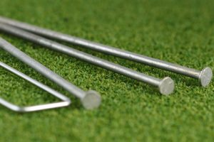 We can supply nails for artificial grass DIY install