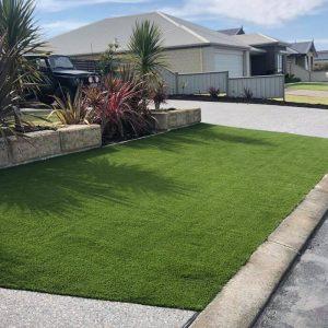 Natural Grass recent install