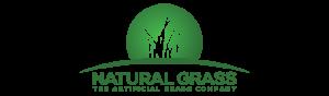 Natural Grass - The artificial grass company logo